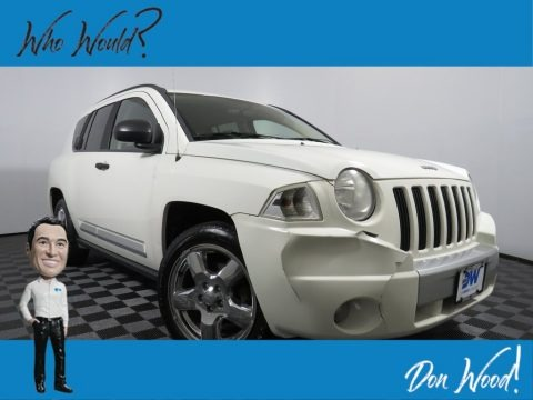 Stone White 2007 Jeep Compass Limited 4x4