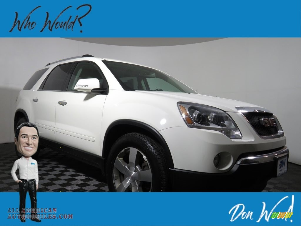 2009 Acadia SLE - Carbon Black Metallic / Light Titanium photo #1
