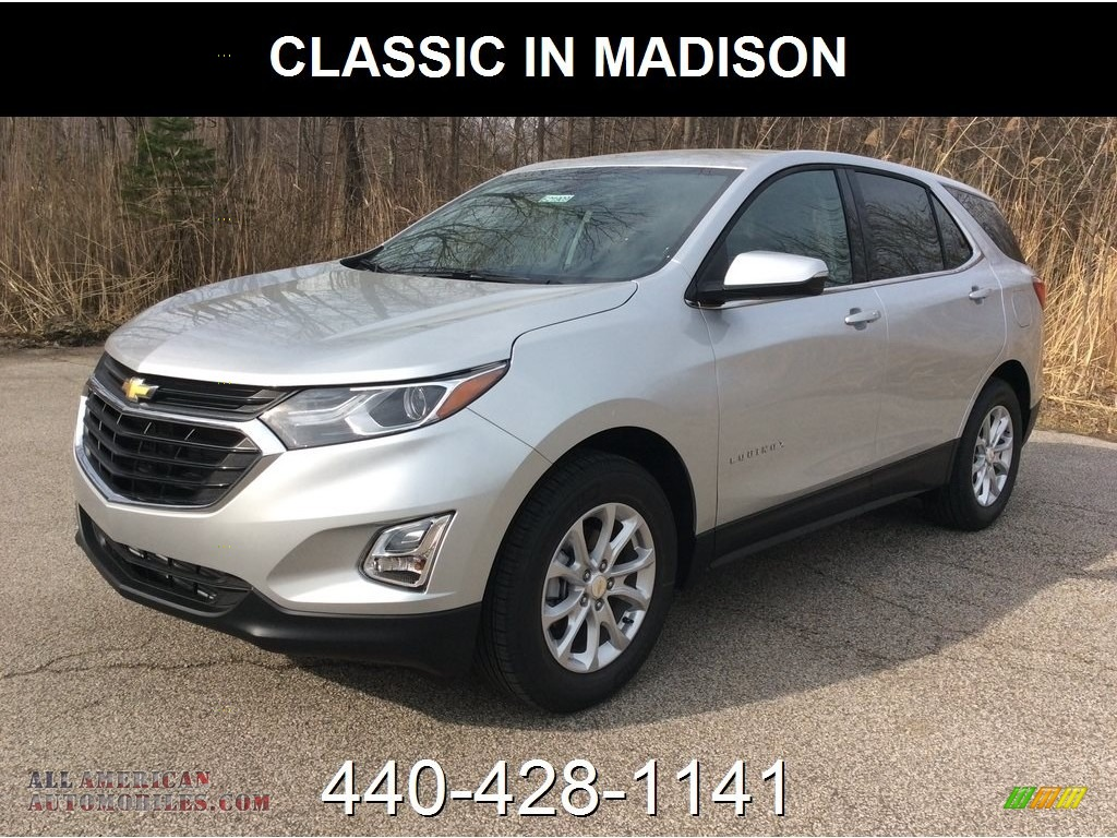 Silver Ice Metallic / Jet Black Chevrolet Equinox LT