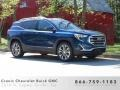GMC Terrain SLT Blue Emerald Metallic photo #1
