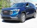 GMC Terrain SLT Blue Emerald Metallic photo #6