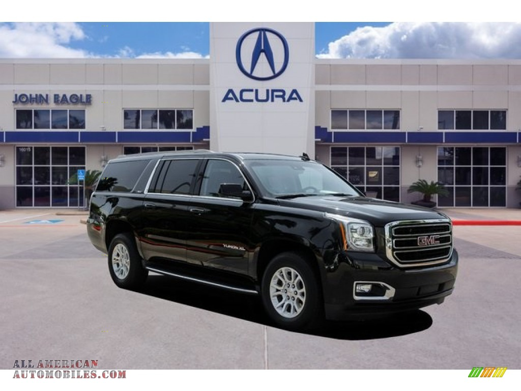 2018 Yukon XL SLT 4WD - Onyx Black / Jet Black photo #1