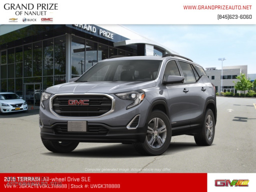 2019 Terrain SLE AWD - Satin Steel Metallic / Jet Black photo #1