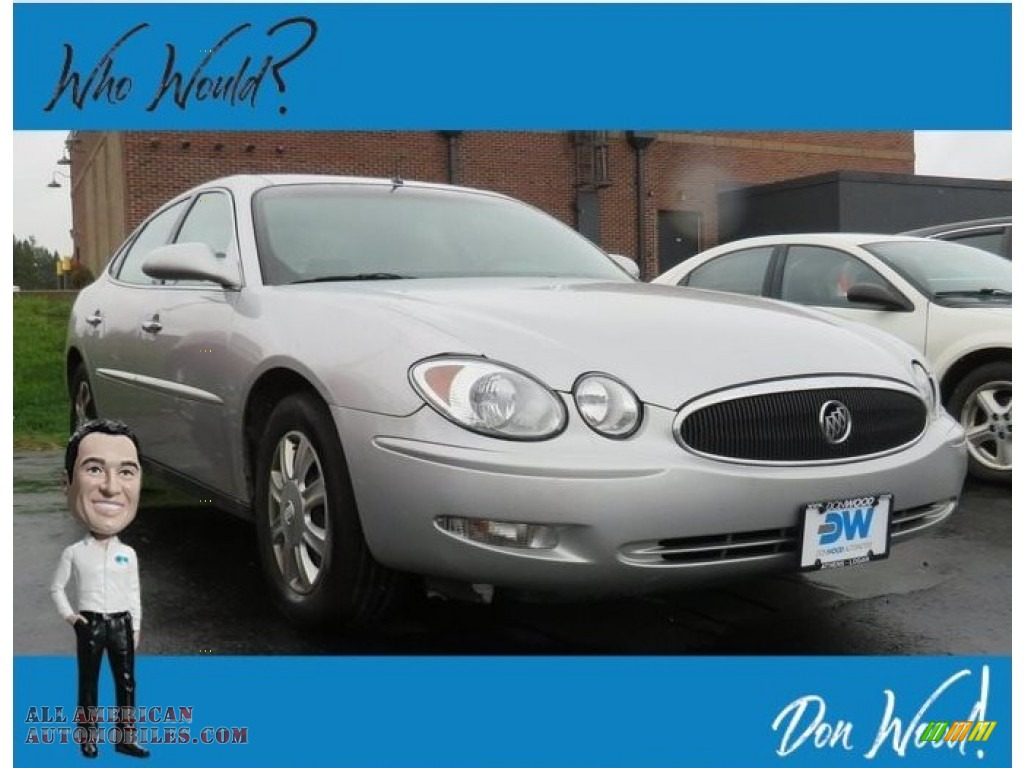 Sterling Silver Metallic / Gray Buick LaCrosse CX