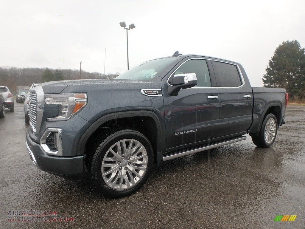 2019 Sierra 1500 Denali Crew Cab 4WD - Dark Sky Metallic / Jet Black photo #1
