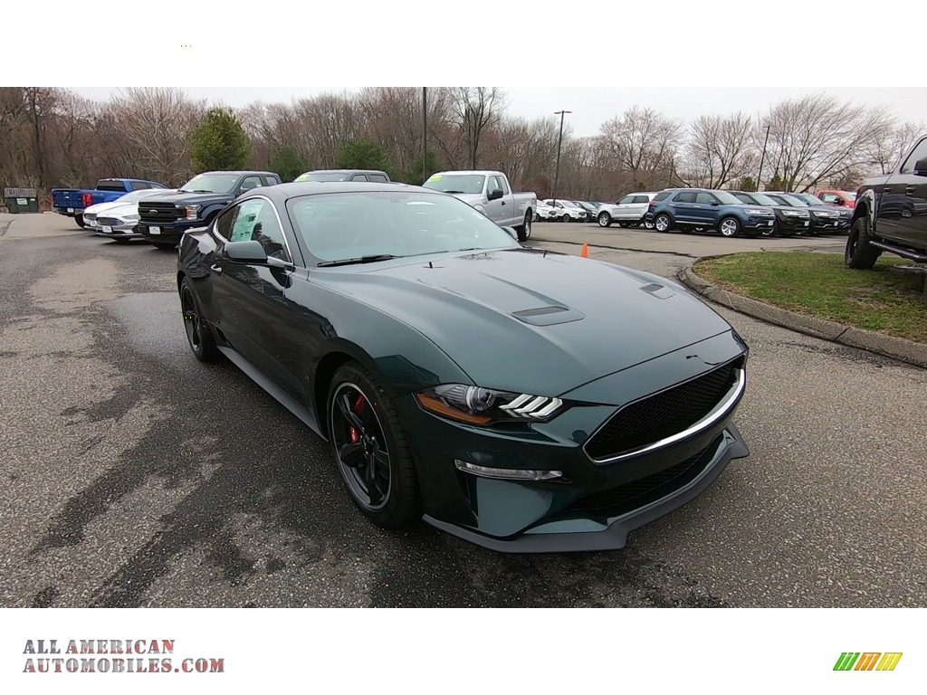 2019 Mustang Bullitt - Dark Highland Green / Ebony photo #1