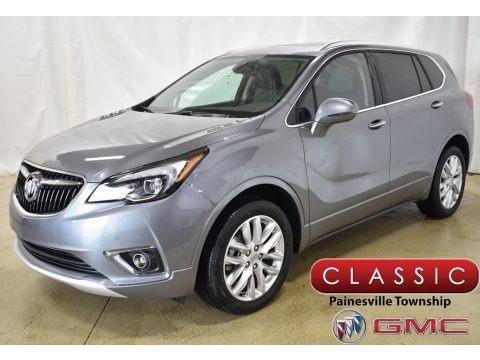 Satin Steel Gray Metallic 2019 Buick Envision Premium AWD