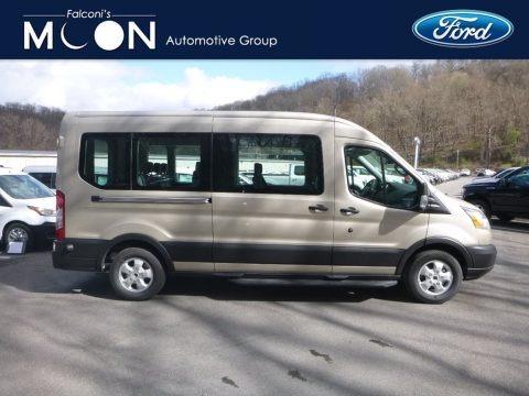 White Gold 2019 Ford Transit Passenger Wagon XLT 350 MR Long