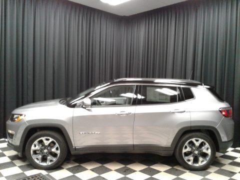 Billet Silver Metallic 2019 Jeep Compass Limited