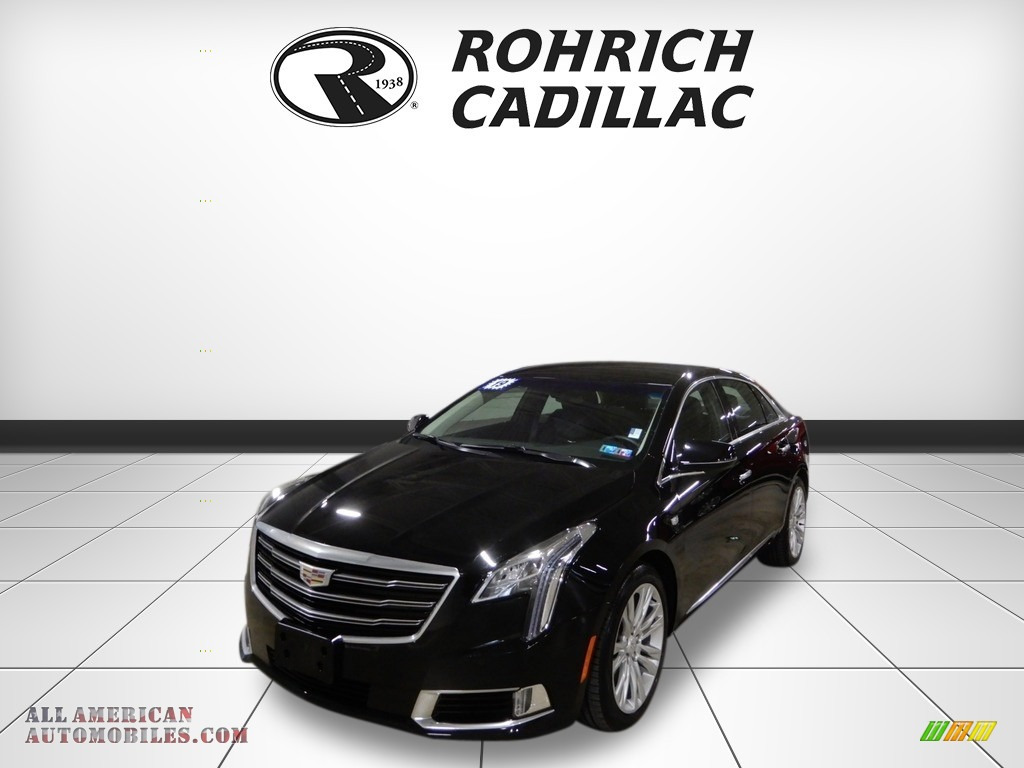 Black Raven / Jet Black Cadillac XTS Luxury