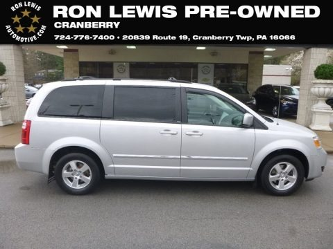 Bright Silver Metallic 2009 Dodge Grand Caravan SXT