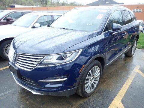 Rhapsody Blue 2018 Lincoln MKC Reserve AWD
