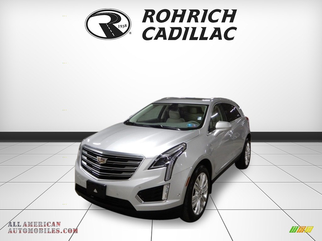 2017 XT5 Premium Luxury AWD - Radiant Silver Metallic / Cirrus photo #1