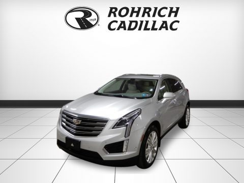 Radiant Silver Metallic 2017 Cadillac XT5 Premium Luxury AWD