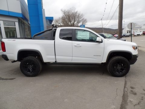 Summit White 2019 Chevrolet Colorado ZR2 Extended Cab 4x4