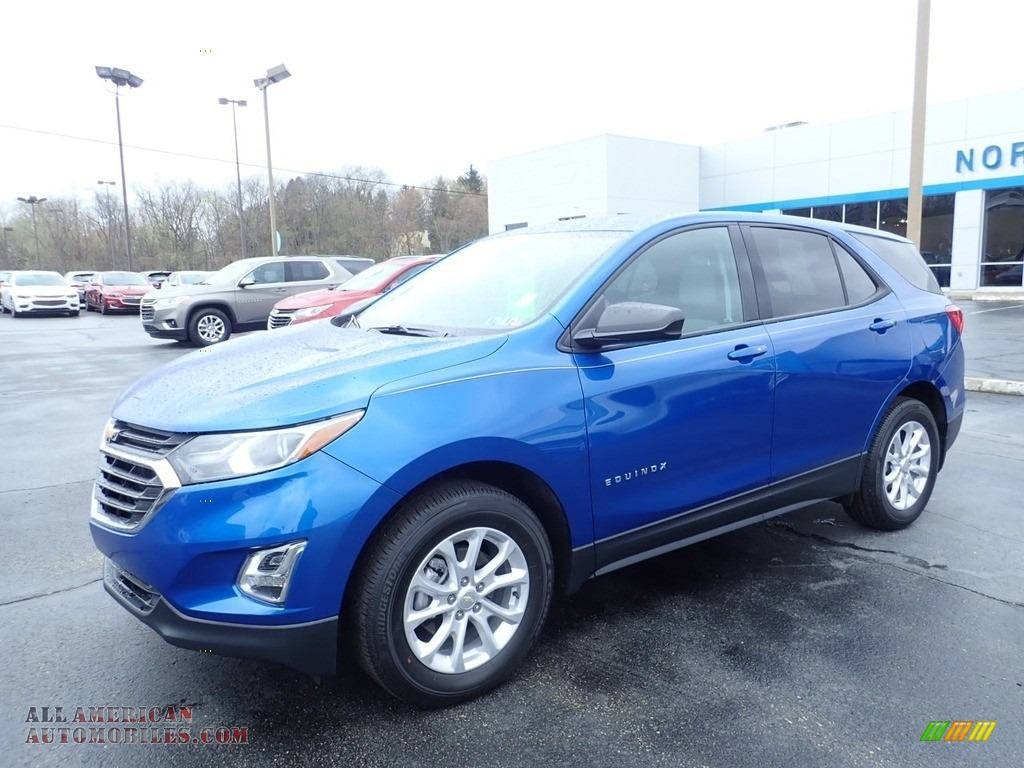 2019 Equinox LS AWD - Kinetic Blue Metallic / Medium Ash Gray photo #1