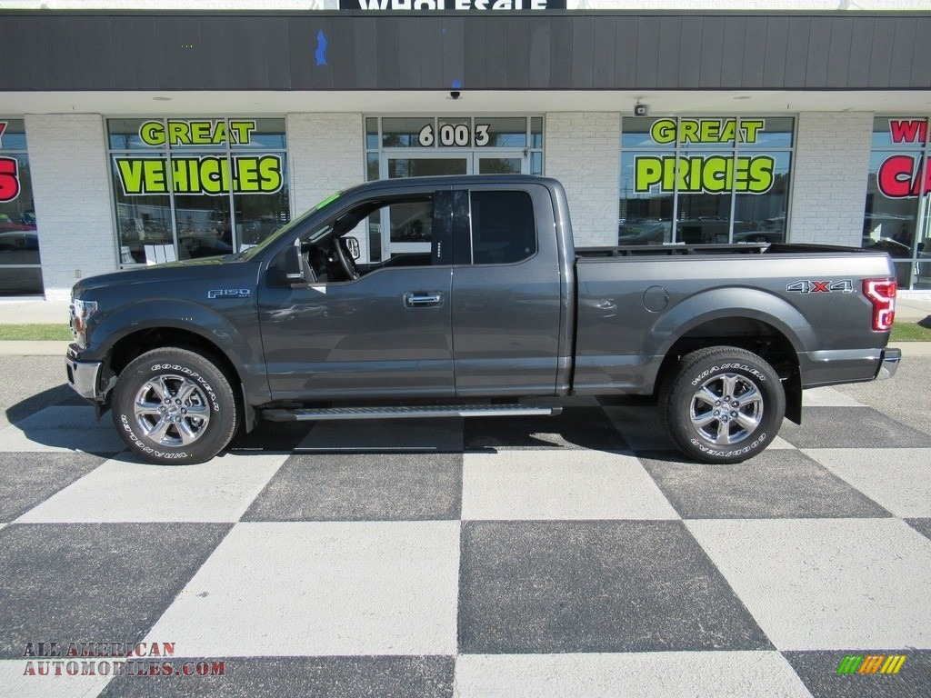 2018 F150 XLT SuperCab 4x4 - Magnetic / Earth Gray photo #1