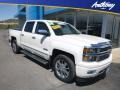 Chevrolet Silverado 1500 High Country Crew Cab 4x4 White Diamond Tricoat photo #1