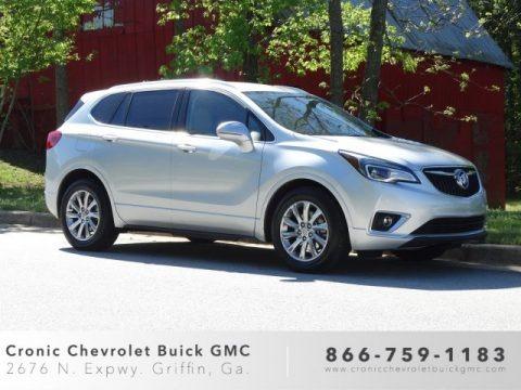 Galaxy Silver Metallic 2019 Buick Envision Essence