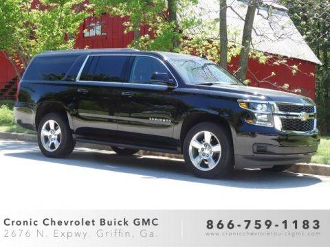 Black 2019 Chevrolet Suburban LT