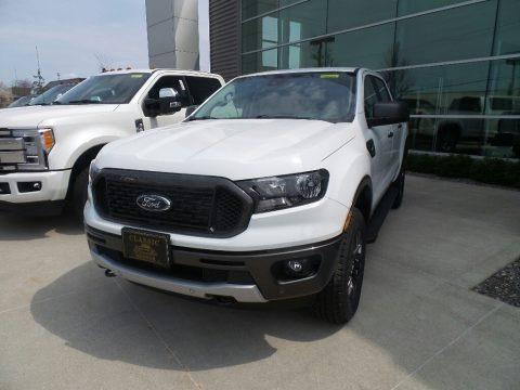 Oxford White 2019 Ford Ranger XLT SuperCrew 4x4