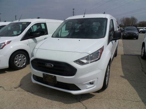 Frozen White 2019 Ford Transit Connect XLT Van