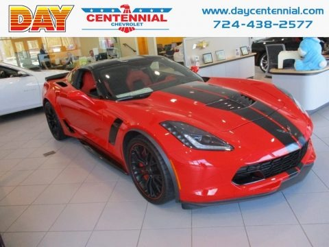 Torch Red 2018 Chevrolet Corvette Z06 Coupe