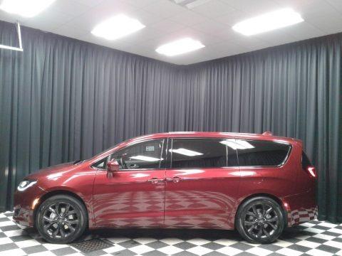 Velvet Red Pearl 2019 Chrysler Pacifica Touring Plus