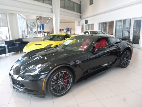 Black 2019 Chevrolet Corvette Z06 Coupe