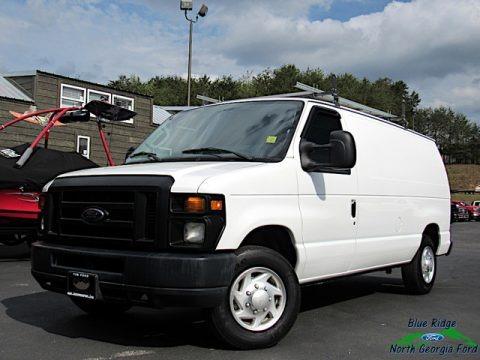 Oxford White 2012 Ford E Series Van E150 Cargo