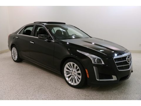 Black Raven 2014 Cadillac CTS Luxury Sedan AWD