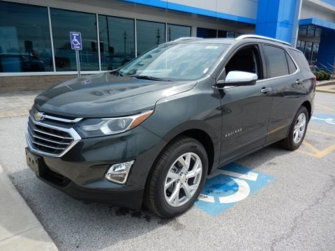Nightfall Gray Metallic 2019 Chevrolet Equinox Premier AWD