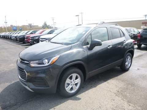 Nightfall Gray Metallic 2019 Chevrolet Trax LT AWD