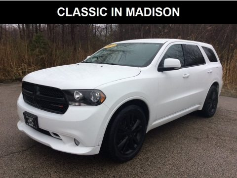 Bright White 2013 Dodge Durango R/T AWD