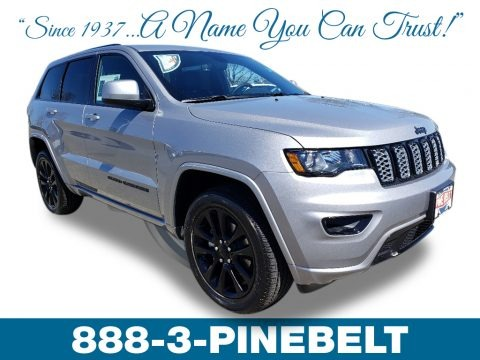 Billet Silver Metallic 2019 Jeep Grand Cherokee Altitude 4x4