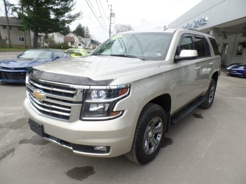 Champagne Silver Metallic 2017 Chevrolet Tahoe LT 4WD