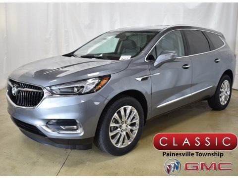 Satin Steel Metallic 2019 Buick Enclave Essence AWD