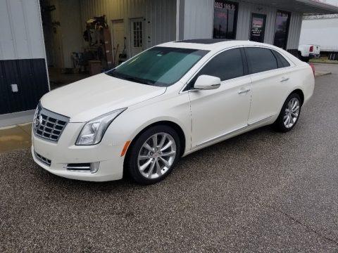 White Diamond Tricoat 2013 Cadillac XTS Luxury AWD