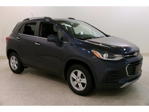 Storm Blue Metallic 2019 Chevrolet Trax LT AWD