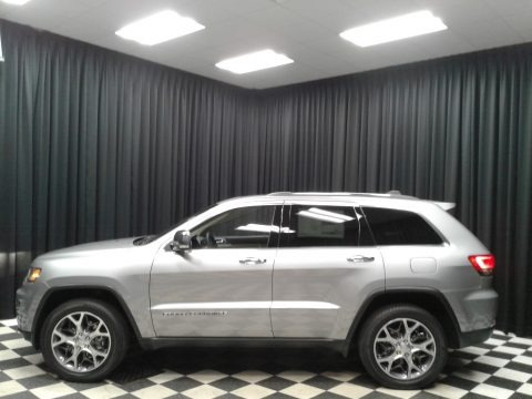 Billet Silver Metallic 2019 Jeep Grand Cherokee Limited 4x4
