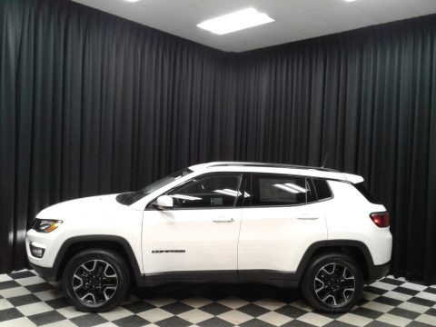 White 2019 Jeep Compass Sport 4x4