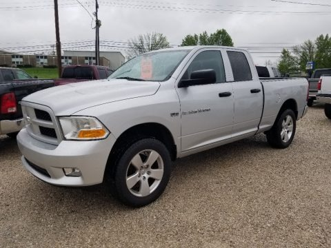 Bright Silver Metallic 2012 Dodge Ram 1500 ST Quad Cab 4x4