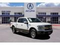 Ford F150 King Ranch SuperCrew 4x4 White Gold photo #1