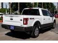 Ford F150 King Ranch SuperCrew 4x4 White Gold photo #7