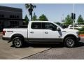 Ford F150 King Ranch SuperCrew 4x4 White Gold photo #8