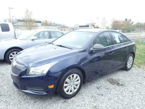 Imperial Blue Metallic 2011 Chevrolet Cruze LS