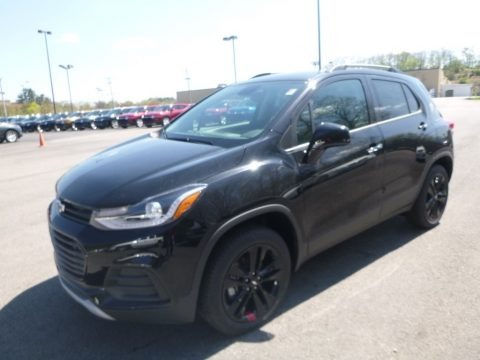 Mosaic Black Metallic 2019 Chevrolet Trax LT AWD