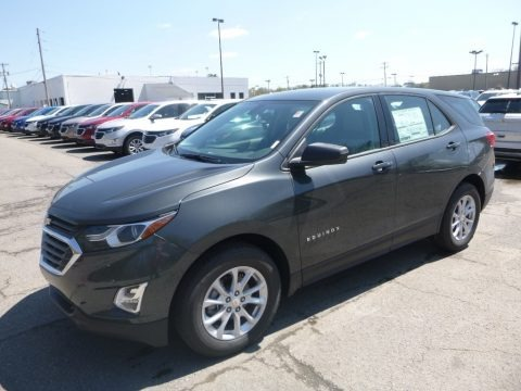 Nightfall Gray Metallic 2019 Chevrolet Equinox LS