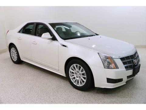 White Diamond Tricoat 2011 Cadillac CTS 4 3.0 AWD Sedan
