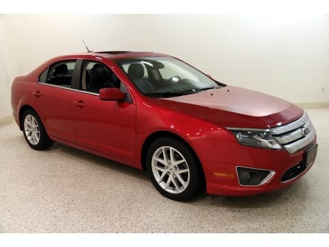 Red Candy Metallic 2012 Ford Fusion SEL